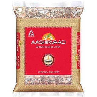 Aashirvaad-Whole Wheat Atta-10 Kg