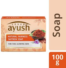 Ayush-Natural Fairness Saffron Soap-100 Gm