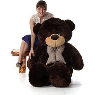 TRUELOVER Teddy bear 3 FEET TEDDY BEAR SOFT CUDDLY   91 cm  Chocolate    91 cm Chocolate