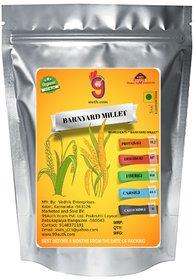 99Auth Pure 2kg Natural Original Barnyard Millet.(oodalu/kuthiraivali/Sanwa)