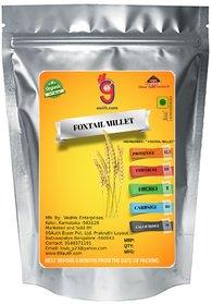 99Auth 3 Kg Raw Organic Original Foxtail Millet. (Navane/Thinai) Pure