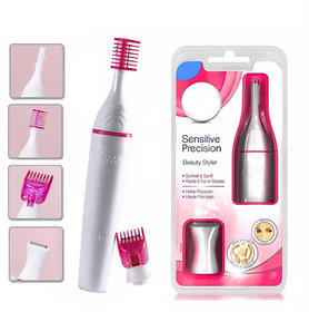 Sweet Sensitive Touch Electric Trimmer for Women Eyebrow Bikini (Facial Hair Removal) Cordless Trimmer Bi Feather