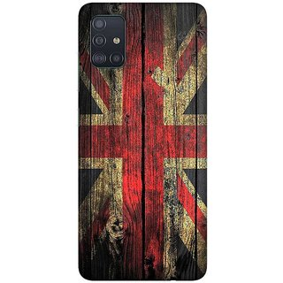 OnHigh Designer Printed Hard Back Cover Case For Samsung A51/Samsung A71, Abroad Flag