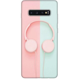 OnHigh Designer Printed Hard Back Cover Case For Samsung S10 Plus, Lets Play Music