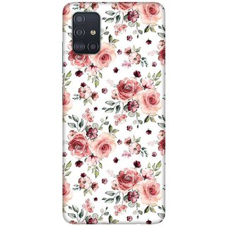 OnHigh Designer Printed Hard Back Cover Case For Samsung A51/Samsung A71, Roses Beauty