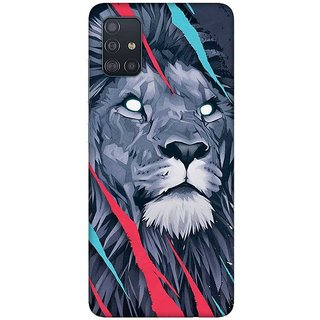 OnHigh Designer Printed Hard Back Cover Case For Samsung A51/Samsung A71, Dont Angry Me