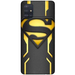 OnHigh Designer Printed Hard Back Cover Case For Samsung A51/Samsung A71, Super Case