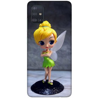 OnHigh Designer Printed Hard Back Cover Case For Samsung A51/Samsung A71, Angel Doll