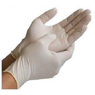 Disposable Latex Examination Gloves - Large 50Pairs