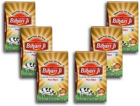 Bihari ji Desi Ghee 500 ML Tetra pack of -6