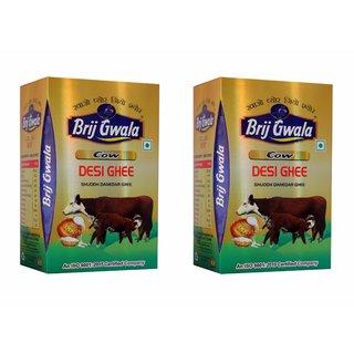 Brij Gwala Pure Desi Cow Ghee 1Ltr Tetra Pack-2