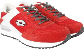 Lotto ZEBRA Running Shoes For Men  (Red)
