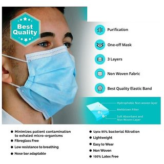 Coolboss Anti Pollution Disposable Surgical Face Mask 1000 Pack