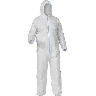 Corona Protection White PPE Kits 90GSM