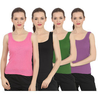 ChileeLife Women Camisole/Tops (Pack of 4)