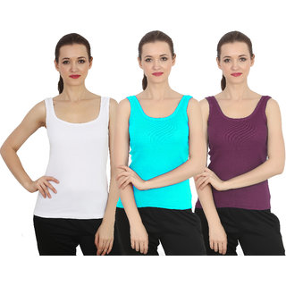 ChileeLife Women Camisole/Tops (Pack of 3)