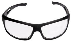 Stylewell High Quality Night Vision Anti-Fog Eye Protective Transparent Wide-Vision Safety Gog-gles