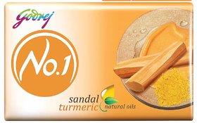 Godrej No.1 Sandal Turmeric Soap 100g