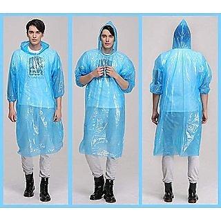 love4ride Combo RainCard With 3 Fold Umbrella Muticolor  (Assorted)