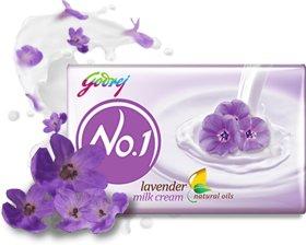 Godrej No.1 Lavender Milk Cream Soap 50g