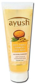 Lever Ayush Therapy Anti Pimple Turmeric Face Wash 80g