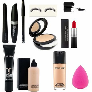 11 Pc Face Beauty Combo All In One