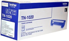 Brother Tn 1020 Black Toner Cartridge Use Brother Hl-1111/1201/1211W/Dcp-1511/1514/1601/1616Nw/Mfc-1811/1814/1911Nw. Single Color Toner (Black)