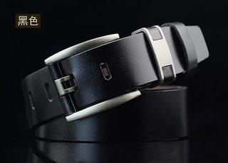Rylen Men  Women Casual, Party, Evening Black Artificial Leather Belt