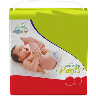 Baby Diaper Pants Medium Size (75 Pcs) (Assorted packet color design subject to availability)