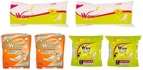 Wow World of Women Combo Of Maxi Jumbo Plus, Ultra Super Plus Sanitary Napkin and Regular Straight Sanitary Napkin