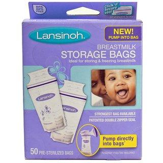 Lansinoh Breastmilk Storage Bags - 50Pk (Pack of 3)