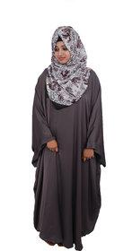 Women's Plain Nida Kaftan Abaya Burqa