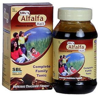 Sbl Alfalfa Malt 450g Pack of 2