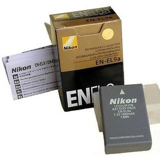 EN-EL9a Battery For Nikon DSLR D40 D40x D60 D3000 D5000 Kit camera 1080 mAh