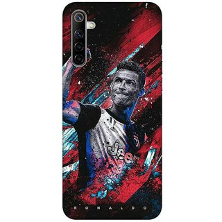OnHigh Designer Printed Hard Back Cover Case For Oppo Realme 6, Retro Player