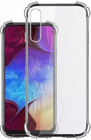 BonnyM Back Cover for Samsung Galaxy A50 (Transparent, Silicon)