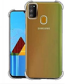 BonnyM Back Cover for Samsung Galaxy M31 (Transparent, Silicon)