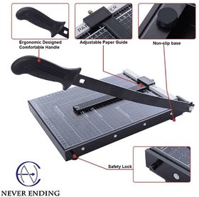 Never Ending A4 Size Heavy Duty Paper Cutter Guillotine Trimmer