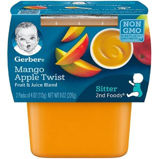 Gerber 2nd Foods for Sitter - Mango Apple Twist (Pack of 3)