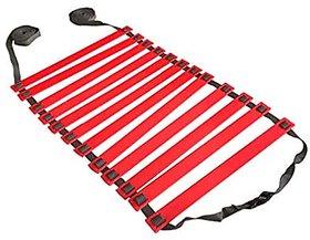 ABB INITIO Polypropylene Adjustable Speed Ladder (RED)