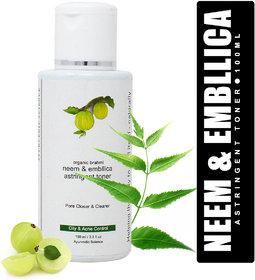 Herbline Neem and Embllica Astringent Toner 100ml
