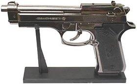 FIRST QUALITY 9mm US -BIG GUN Pocket Lighter GUN WITH STAND