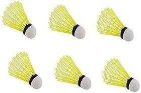 Suryavanshi World Badminton Plastic shuttlecock  Pack of 6