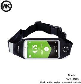 WK Lemove Waist Bag For Mobiles Wt-B08 - Black