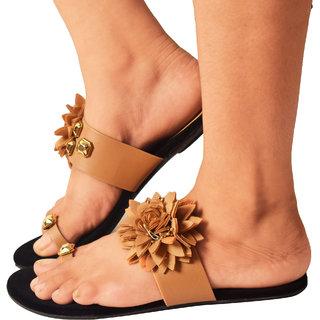 Aishwary Glams Women Stylish Slip on Fancy Flat Slippers