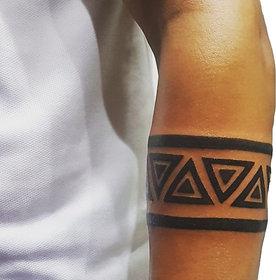 Ordershock Triangle Hand Band Waterproof Temporary Tattoo HB08