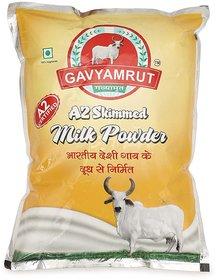 Gavyamrut A2 Skimmed Milk Powder - 1 KG