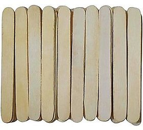 Natural Wooden Ice Cream Stick, Pack of 200 Sticks
