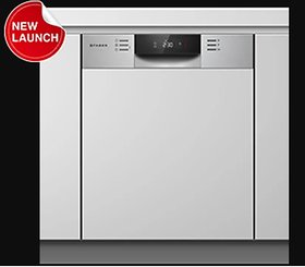Faber 14 Place Settings Built-In Dishwasher (FSID 8PR 14S, Stainless Steel)
