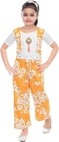 Yellow Jumpsuit For Girls